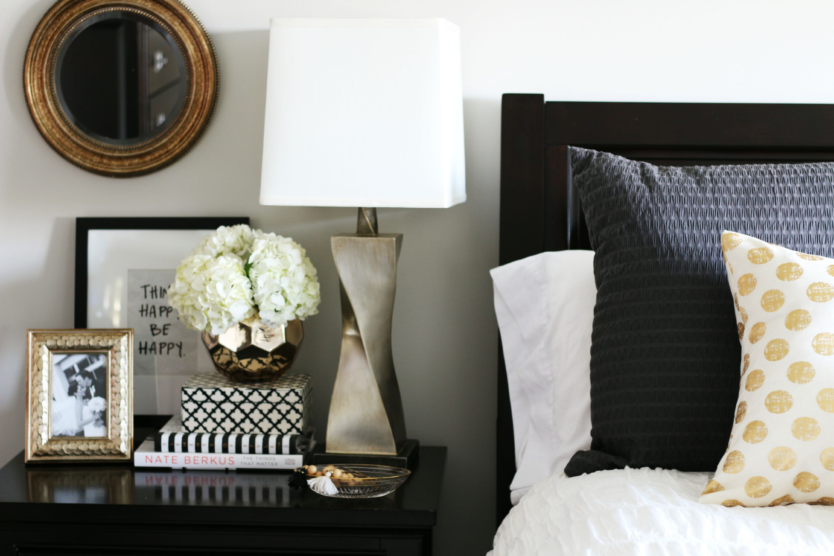 9 ways to make your bedroom more romantic beautify your bedside don t settle for a nightstand that only serves as a parking space for keys books or just about anything use this space to display