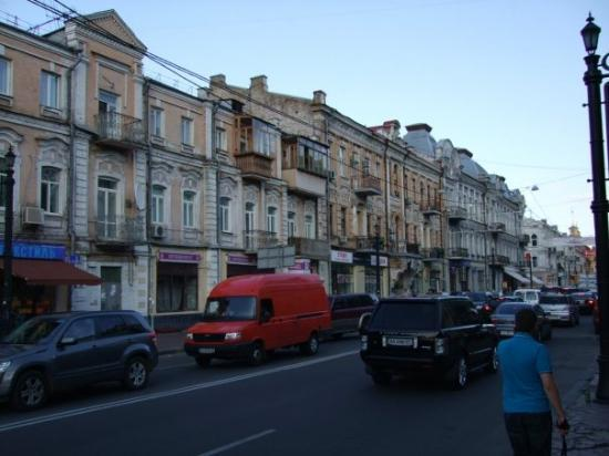 Kiev apartment and building style
