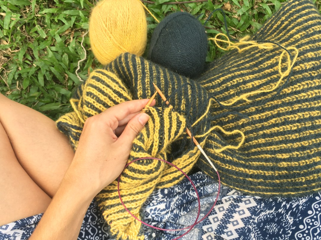 Knit your way through Southeast Asia.
