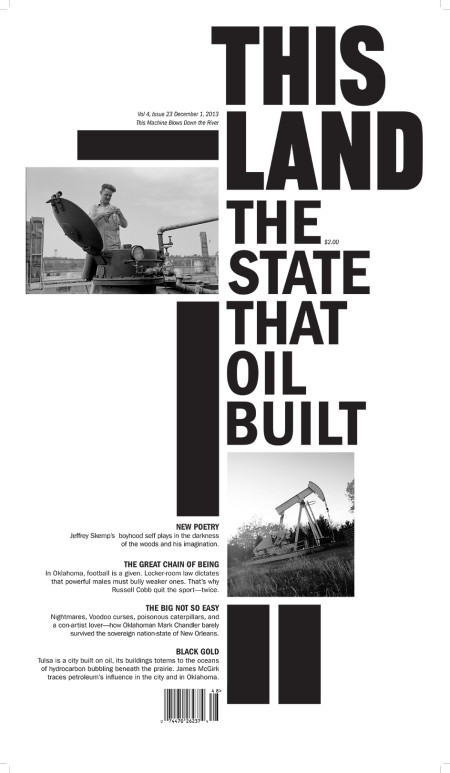 Cover of Dec. 1, 2013 THIS LAND