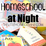 Why We Homeschool at Night