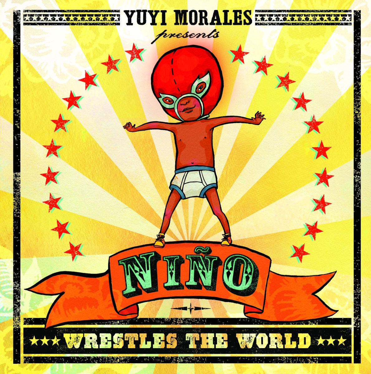 niño  wrestles the world + viva lucha libre masks