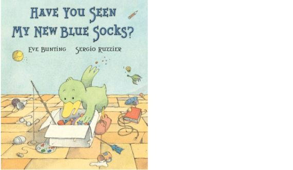 new-blue-socks-book
