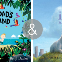 a pair of picture books on saying goodbye