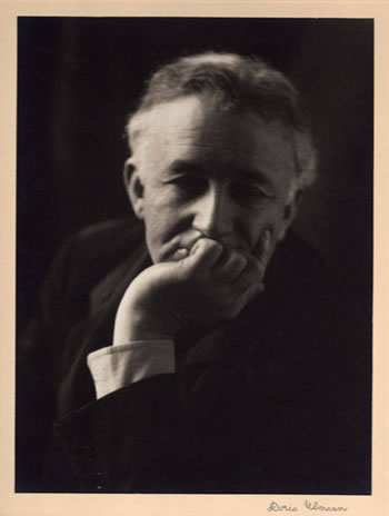 Allen H. Eaton, photograph by Doris Ulman
