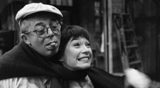 Billy Wilder and Shirley MacLaine