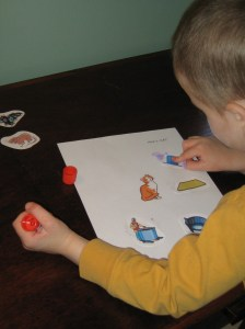 Cut and Paste Rhyming Activities