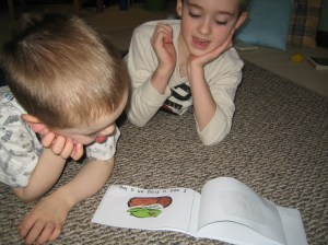 Reading the rhyming emergent reader