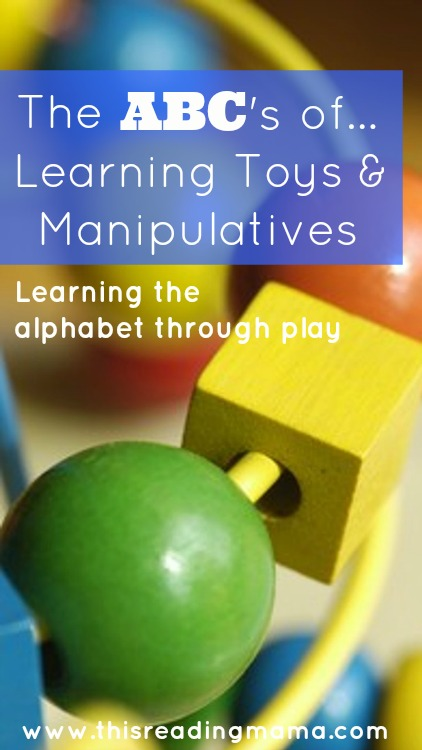 Manipulative Educational Toys : The abcs of learning toys and manipulatives