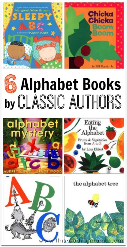 6 Alphabet Books by Classic Authors - This Reading Mama