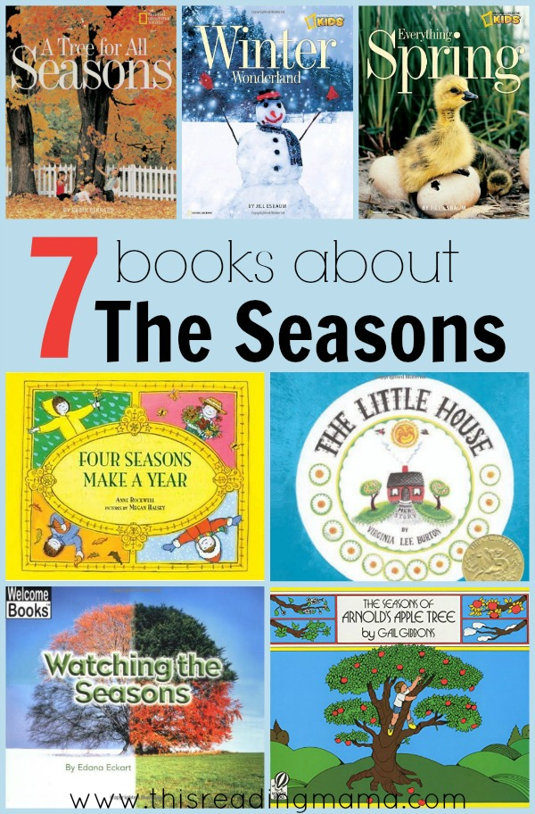 7 Books About The Seasons