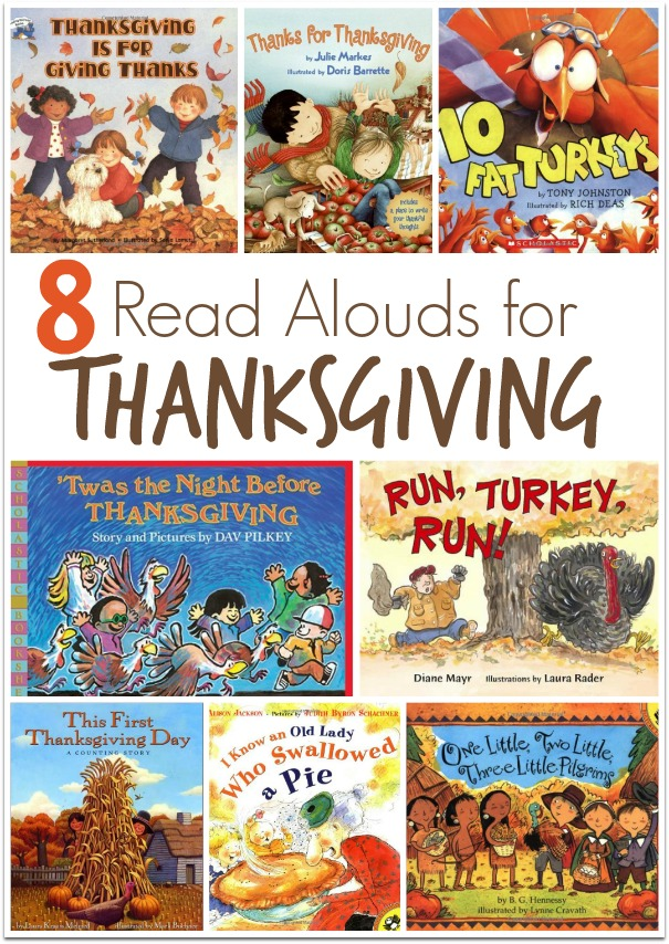 8 Read Alouds for Thanksgiving - This Reading Mama