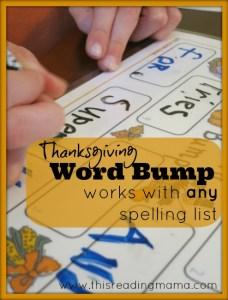 Thanksgiving Word Bump