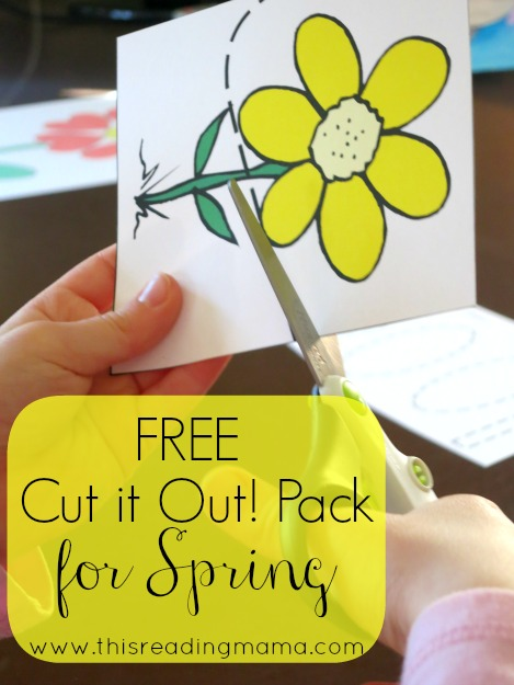 FREE Spring Cut It Out! Pack {Cutting Practice Fun} | This Reading Mama