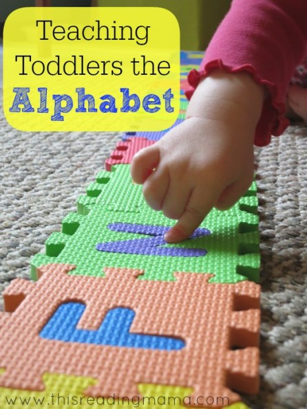 Teaching Toddlers the Alphabet