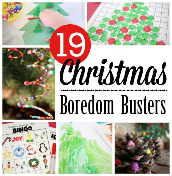 19 Christmas Break Boredom Busters for Kids - This Reading Mama