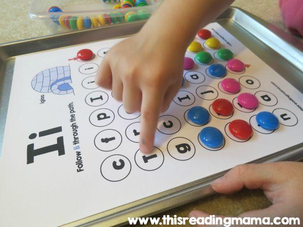 alphabet letter maze for NSis