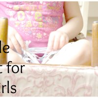 A Simple Gift List for Little Girls