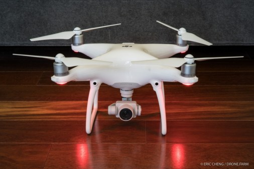 Front View of DJI Phantom 4