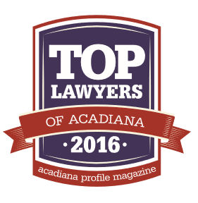Top Lawyers of Acadiana 2016