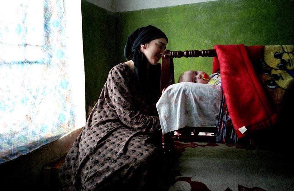 Chechen Refugee In Duisi Village, Pankisi Gorge