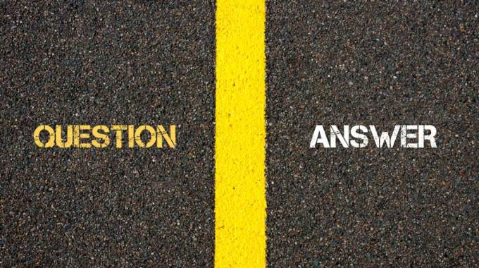Are You In The Question Business Or The Answer Business?