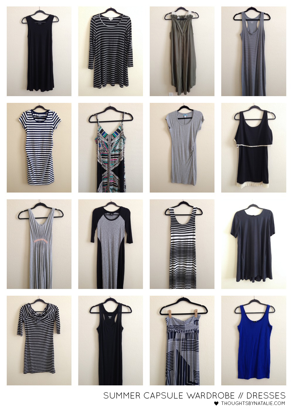 Summer 2014 Capsule Wardrobe   Thoughts By Natalie