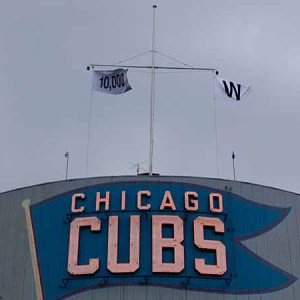 Chicago Cubs Fans Looking For First World Series Win