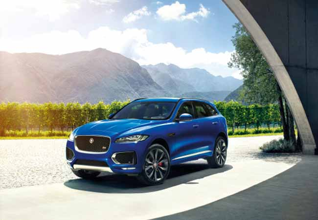 Jaguar Looks To The U.S. To Sell F Pace Crossovers