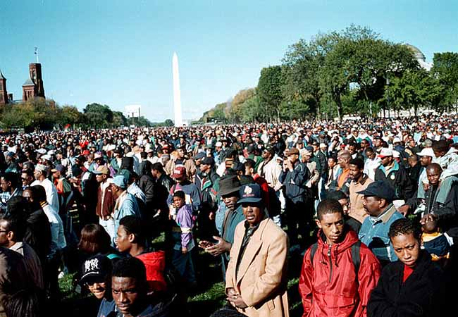 Million Man March 20th Anniversary Celebrations In Washington DC