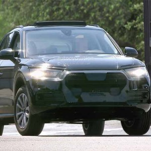 2017 Audi Q5 Spotted Without Camouflage