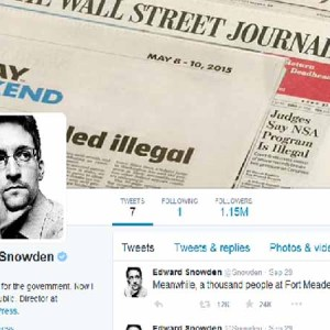 Twitter Becomes The New Megaphone For Snowden