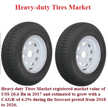 Heavy-duty Tires Market Size, Share, Growth Trends, Regional Outlook, Key Players, Competitive Strategies and Forecasts, 2018 To 2026