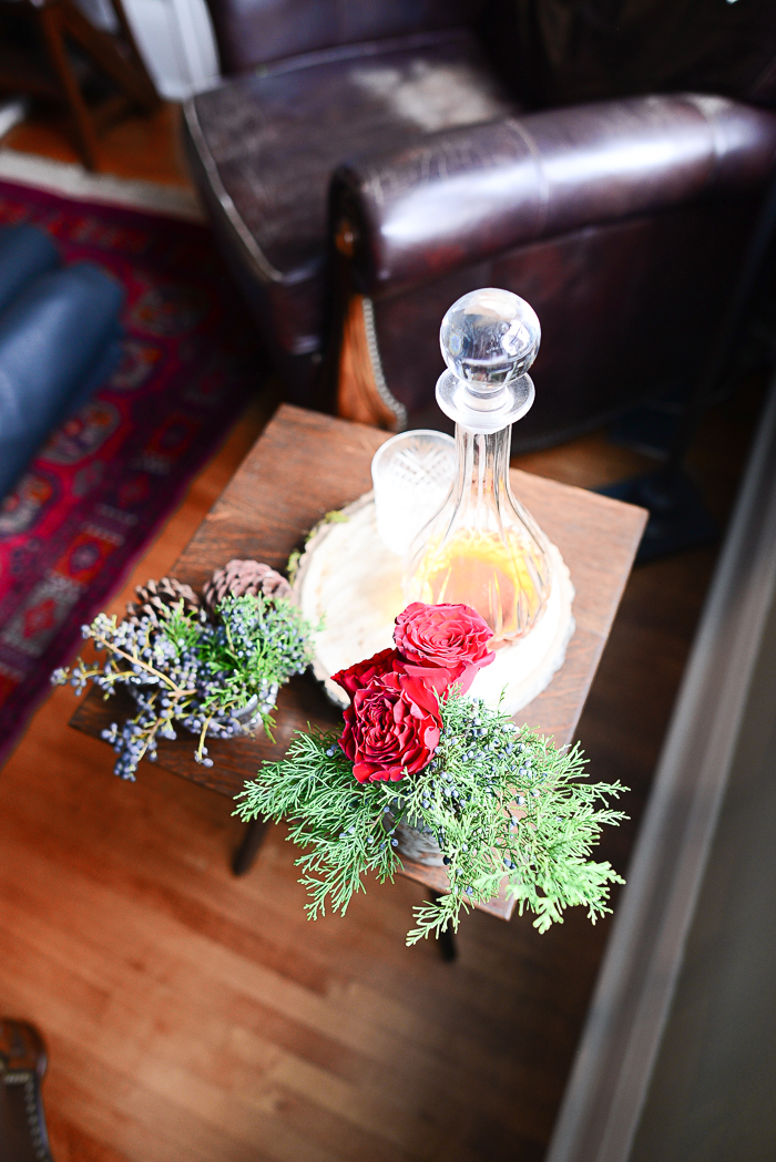 Christmas decorating ideas from Threads & Blooms