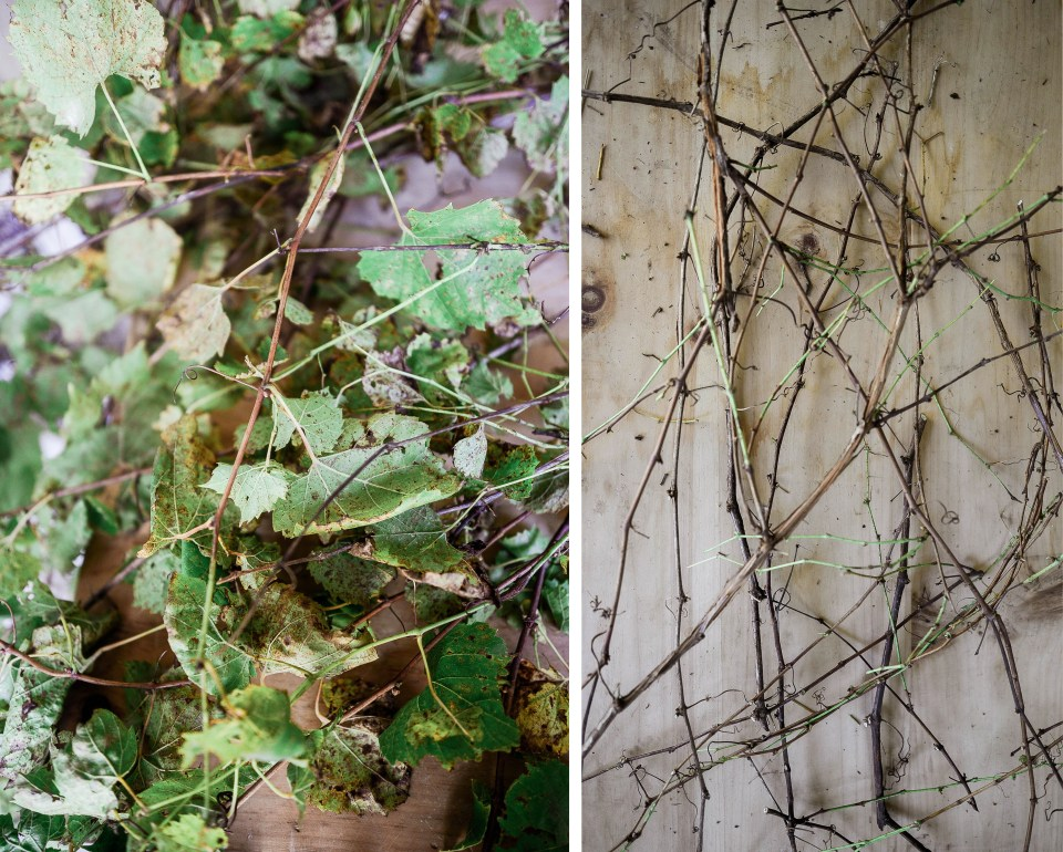 DIY Fall Decor - How to Make a Wreath out of Grapevines