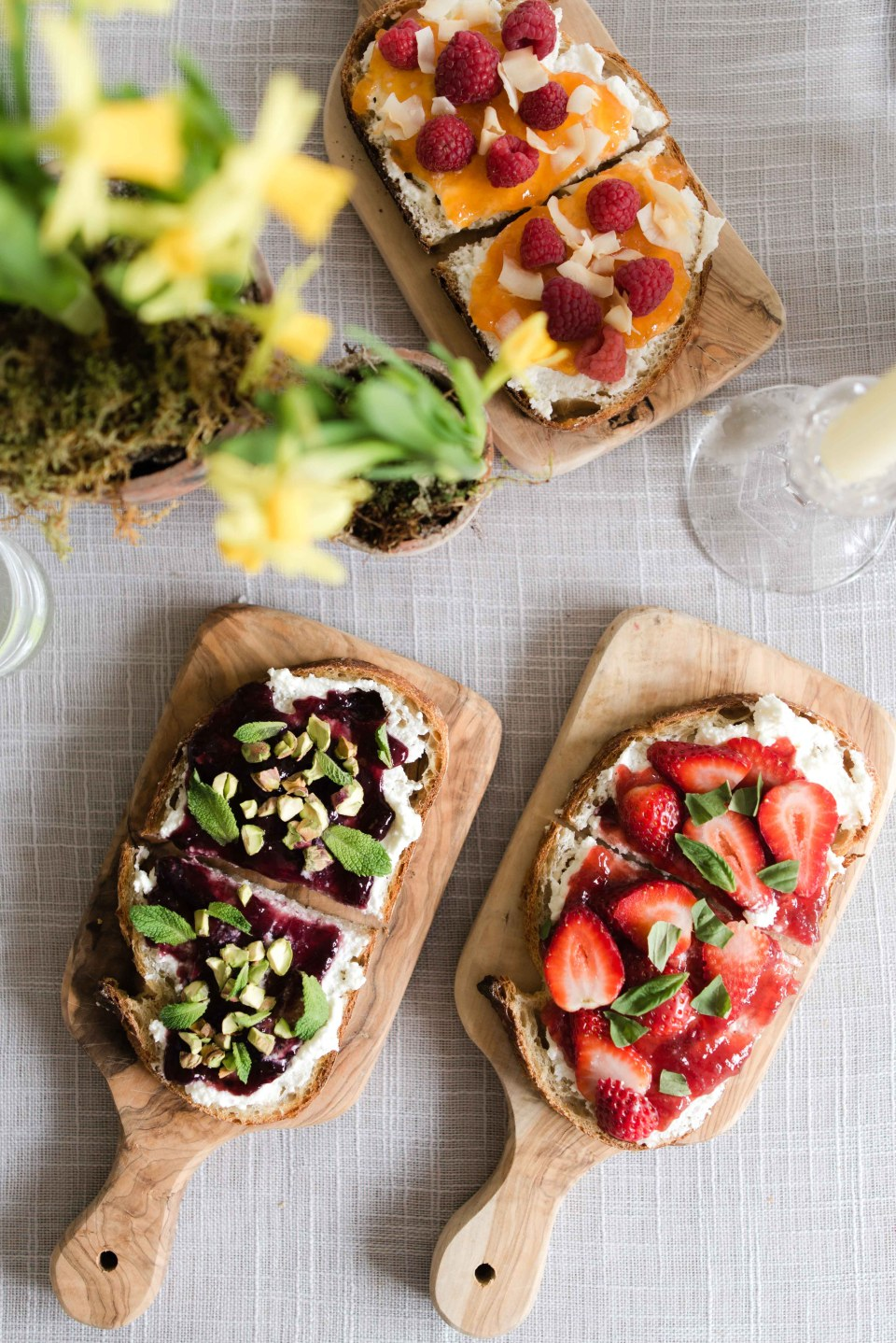 Brunch Ideas - Ricotta Toast Recipes with E.D. Smith