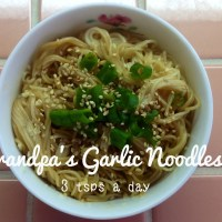 Grandpa's Garlic Noodles
