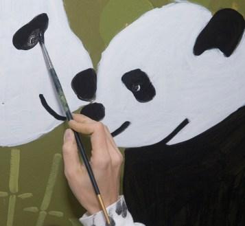 Panda Eye Painting