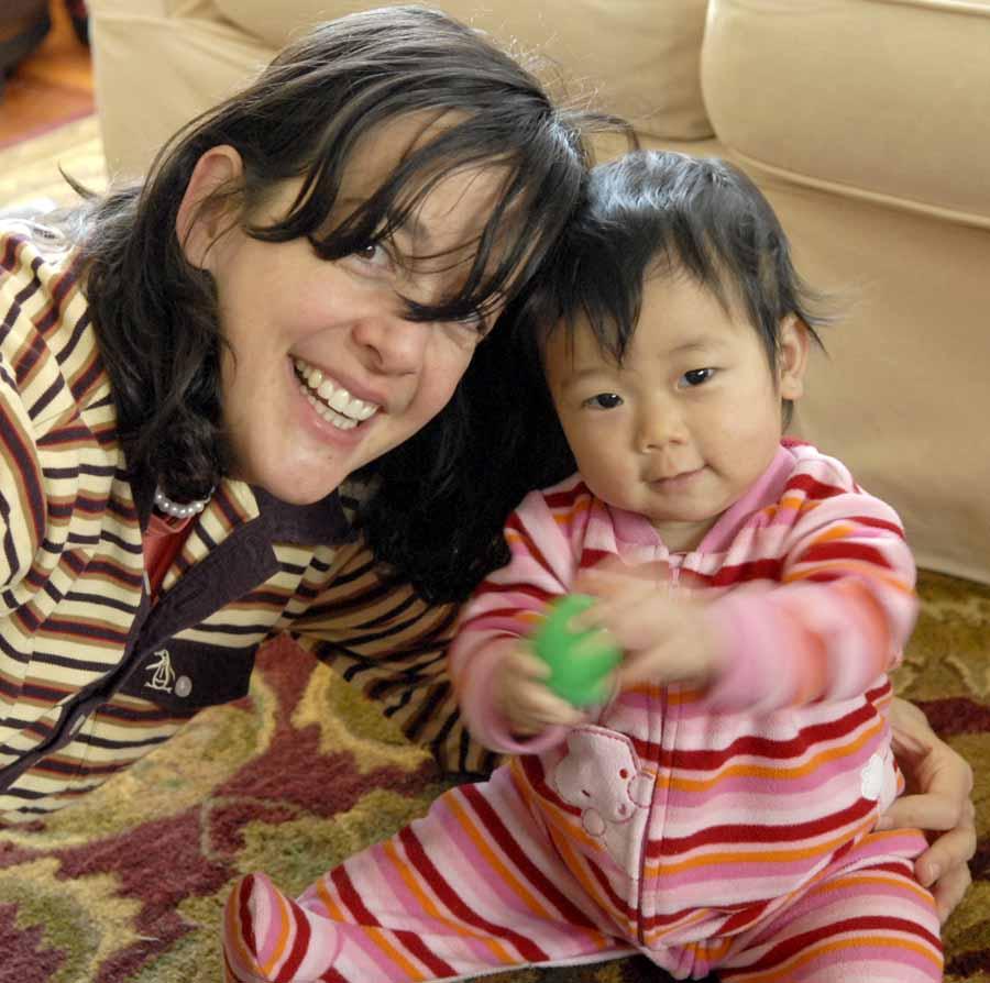 Sara Lee and Li Li Easter