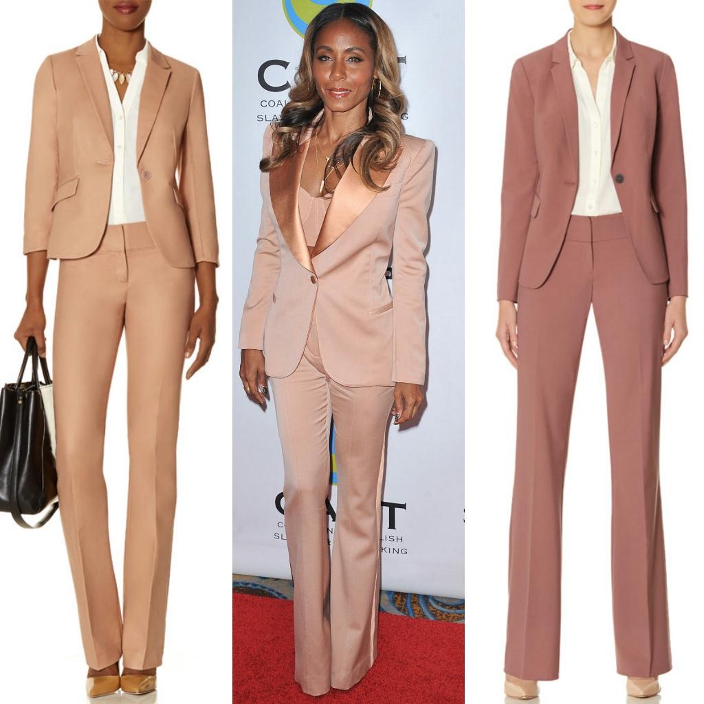 Tall Suits Women Salmon Beige