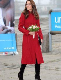 02 Nov 2011 - Kate Middleton, Duchess of Cambridge visits the UNICEF Supply Division Centre, Copenhagen, Denmark