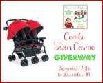 Combi Twin Cosmo Double Stroller Giveaway!