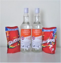 homemade skittles vodka ingredients