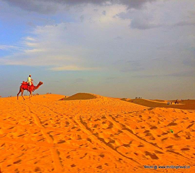 Sam Desert, Jaisalmer, Rajasthan