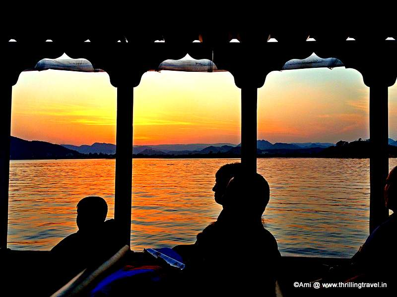 Witnessing the Sunset at Lake Pichola, Udaipur