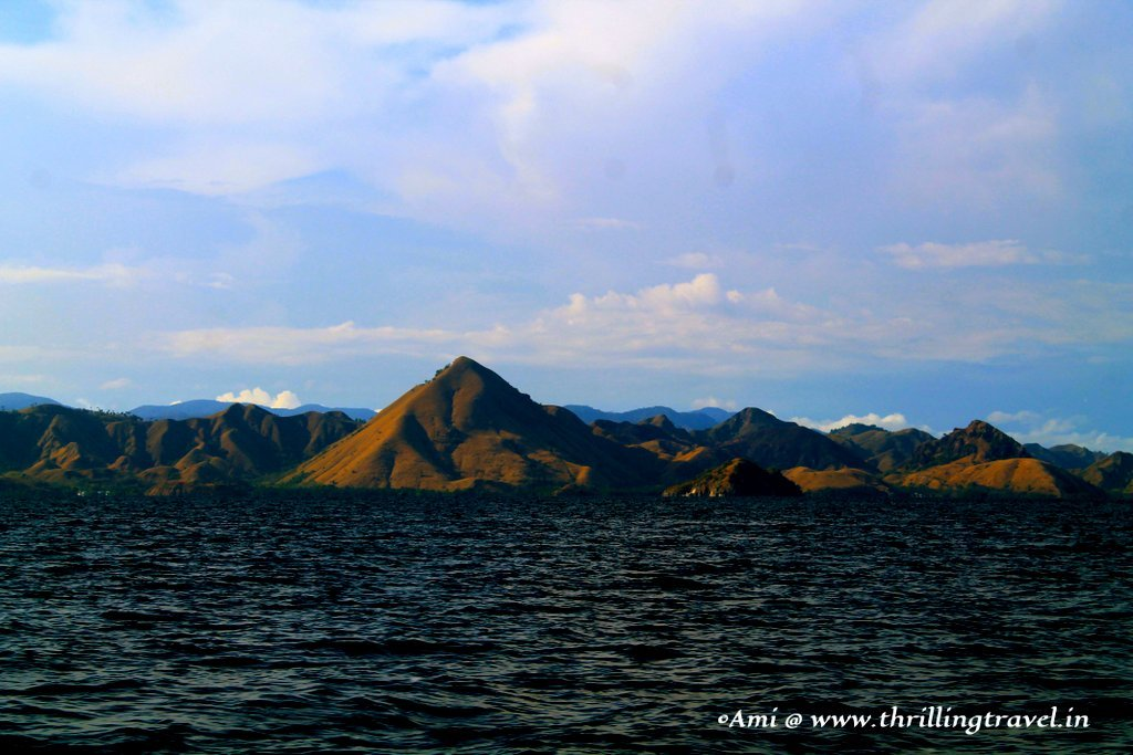 The many islands of Indonesia
