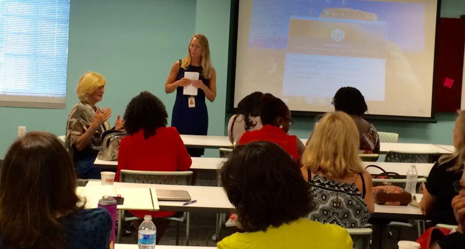 Lynn Mumma addresses the TCC at Sept 9 Meeting