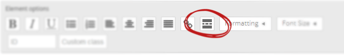Button Position in the User Interface