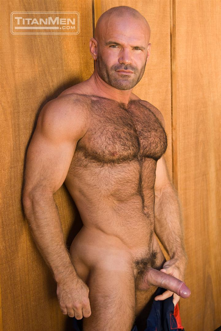 hung hairy muscle men
