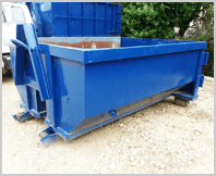 12 cubic yard dumpster available for rent